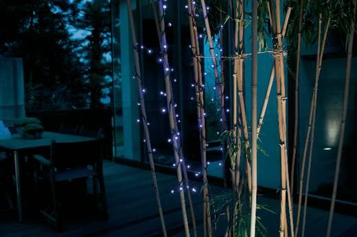 Kültéri mini fényfüzér 80 LED-del, kék, 1132 cm, Konstsmide