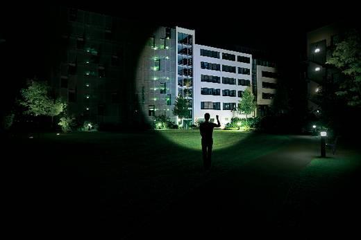 LED-es kézilámpa, High End Power LED, 11 óra, fekete, LED LENSER M7 8307