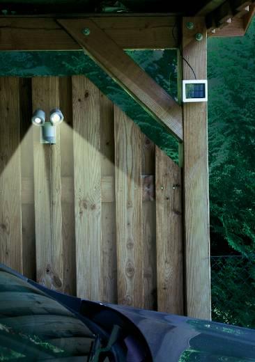 Napelemes LED-es fényszóró mozgásérzékelővel, duó, fehér, GEV 000841