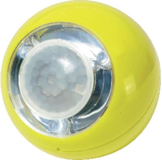 LED-es gömb formájú lámpa mozgásjelzővel, Lightboy, sárga