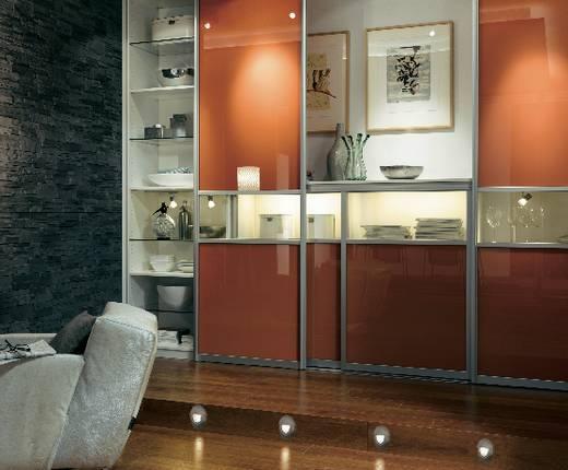 Dekor lámpabúra, négyzet, rozsdamentes acél, Paulmann 93745