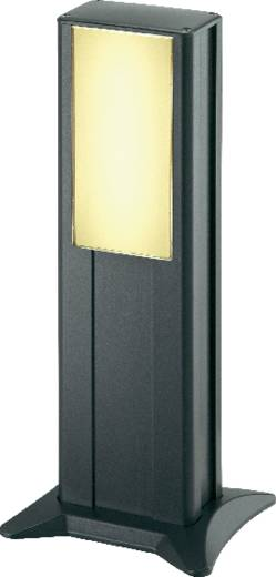 Kültéri álló kerti LED-es lámpatest, 6 W (melegfehér) 96 LED, 230 V, IP44, 45 cm, fekete, IVT
