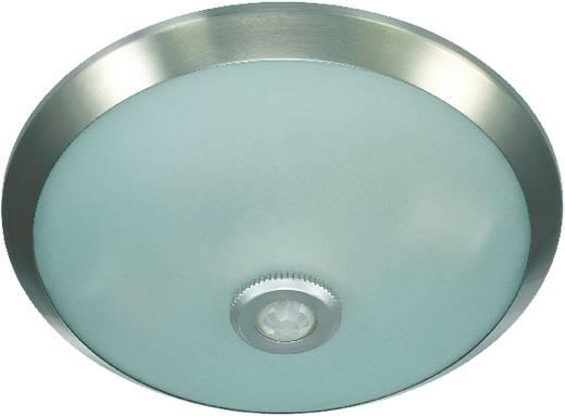 Beltéri mennyezeti lámpa mozgásérzékelővel, energiatakarékos fénycső/hagyományos izzó, E26, króm, Conrad