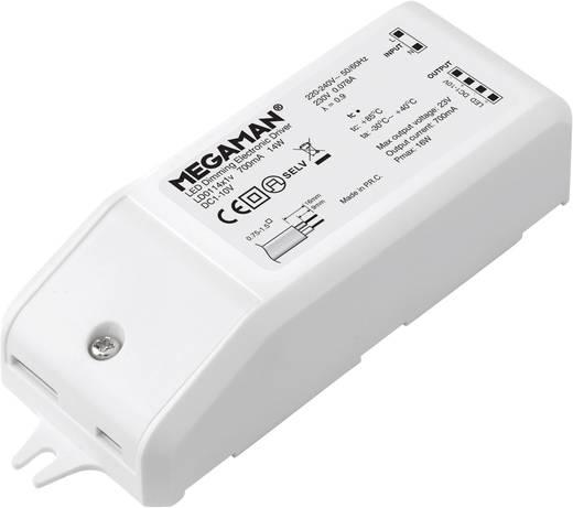 Megaman LED meghajtó MEGAMAN ® LED AR111 meghajtó MM56004 Fehér