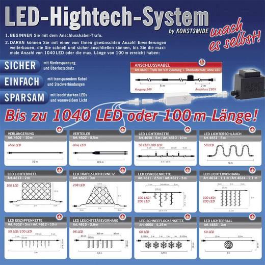 LED-es fényfüzér rendszer elosztó kábel, 24 V, Konstsmide 4602-003