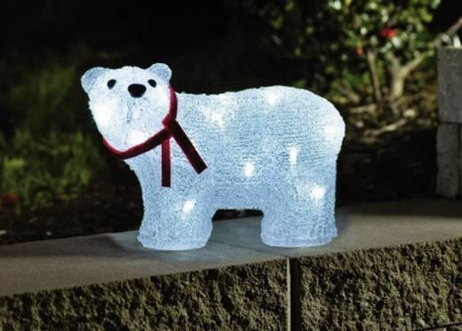 Kültéri LED-es akril figura, jegesmedve, Konstsmide 6124-203