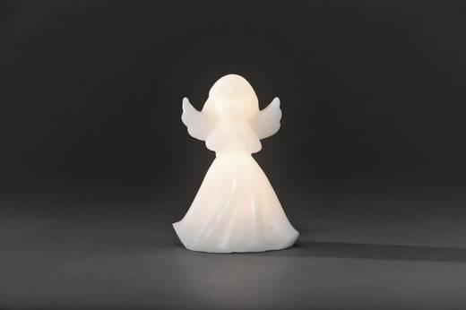 LED-es karácsonyi dísz, viasz angyalka, melegfehér fényű 9.5 cm x 14 cm Konstsmide 1976-100