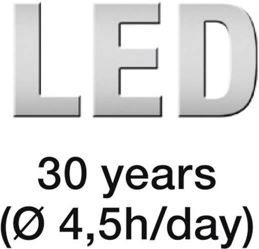 LED-es reflektor mozgásérzékelővel, IP44, fehér, 18W LED = 300 W halogén, Steinel 582210