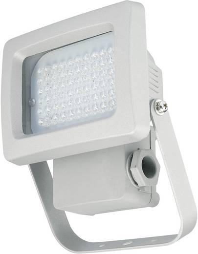LED-es fényszóró, beépített LED-del, 3,8W, IP65, ezüst