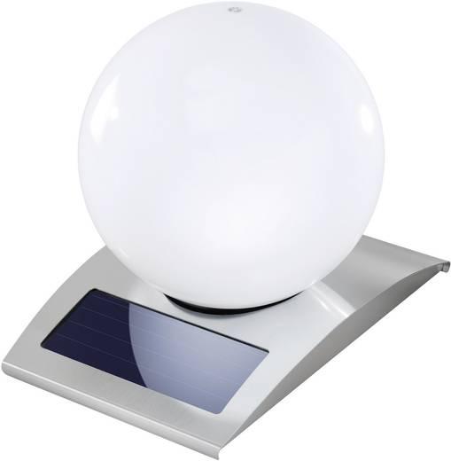Napelemes kerti lámpa, kültéri LED-es dekor lámpa, gömb, rozsdamentes acél, Esotec 102028