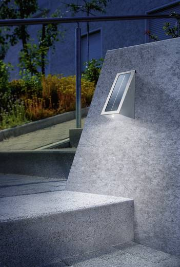 Napelemes LED-es fali világítótest, Esotec Effect 102044