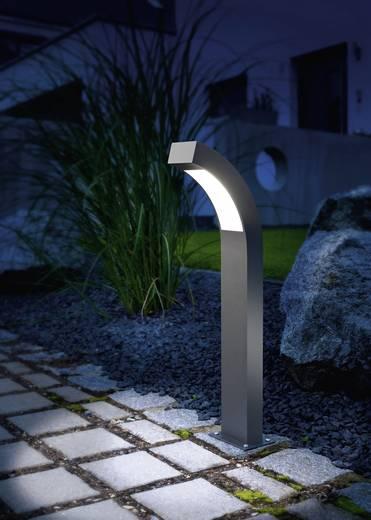 Kültéri álló LED-es lámpatest, 3 W (hidegfehér), 230 V, IP44, alu/antracit, Esotec Line 105190