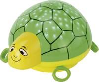 Zenés, LED-es dekorfény (csillagos ég) teknősbéka formában, zöld, Ansmann 1800-002-510 (1800-002-510) Ansmann