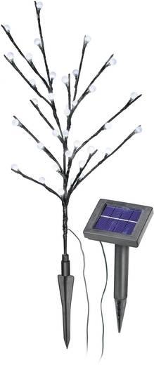 Napelemes, leszúrható LED-es kertilámpa, virág forma, max. 10 óra, Esotec 102105