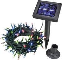 Napelemes LED-es fényfüzér, 100 LED, 12 m, Esotec 102103 (102103) Esotec