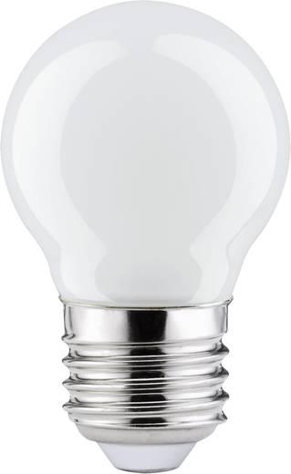 LED izzó 230 V E27 0.6 W, nappalifény-fehér, csepp forma, 1 db, Paulmann