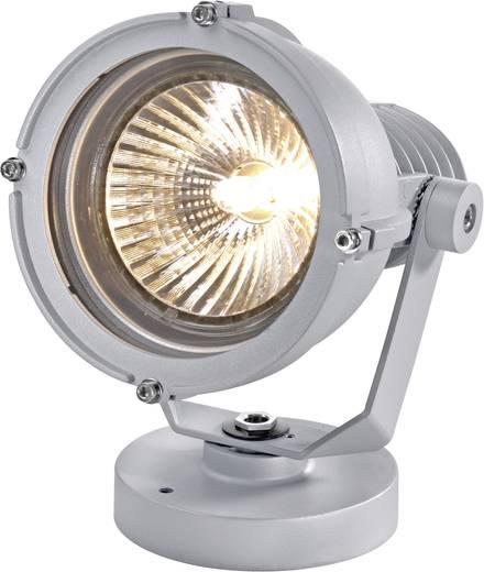 Kültéri álló/fali lámpatest, E27 PAR30, max. 100 W, 230 V, IP44/65, ezüstszürke/alu, Sygonix 34647A