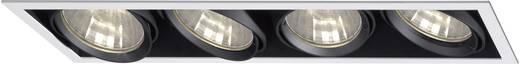 Downlight, 4 x 70 W, fekete-ezüst, Sygonix Savona 34647X