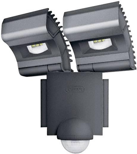 LED-es reflektor mozgásérzékelővel, 2x8 W, 230 V, IP44, fekete, Osram Noxlite LED Spot