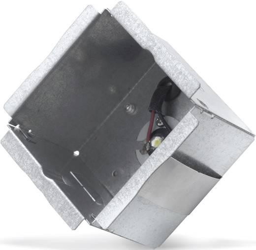 LED-es beépíthető beltéri lámpatest, 1 x 1 W, szürke, Sygonix Marsala 34097C