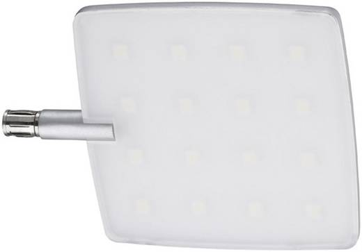Lámpatest, 135 x 105 x 8 mm, LED fixen beépítve, 5 W, alumínium (matt), Paulmann LIVING COMBISYSTEMS NANOLED 70220