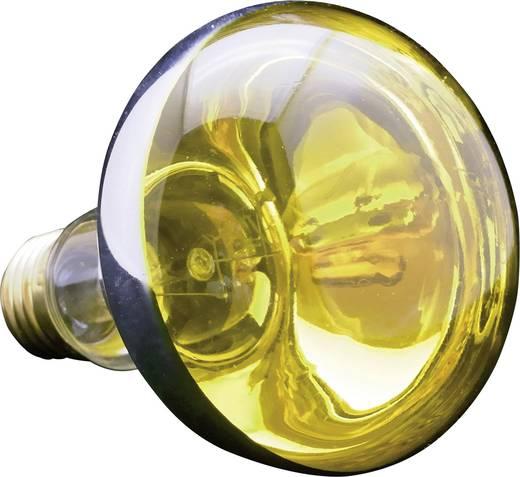 Reflektoros izzó, R80, E27, 60 W, sárga, 6080.77