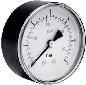 "Manométer ICH 306.63.16, tartomány: 0...16 bar 1/4"" ICH"