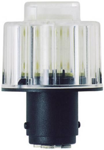 LED izzó jelzőlámpához BA15D 24V, sárga, Werma Signaltechnik 956.300.75