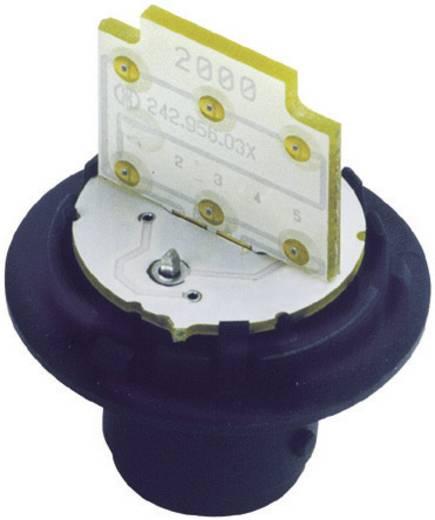 LED izzó jelzőlámpához BA15D 24V, fehér, Werma Signaltechnik 956.400.75