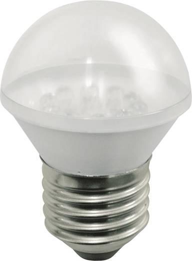 LED izzó jelzőlámpához E27 24V, piros, Werma Signaltechnik 890