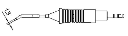 Weller RT5 WMRP mikro pákához hosszú, keskeny, hajlított, kétoldalt csapott, véső formájú pákahegy, forrasztóhegy 0.4 mm
