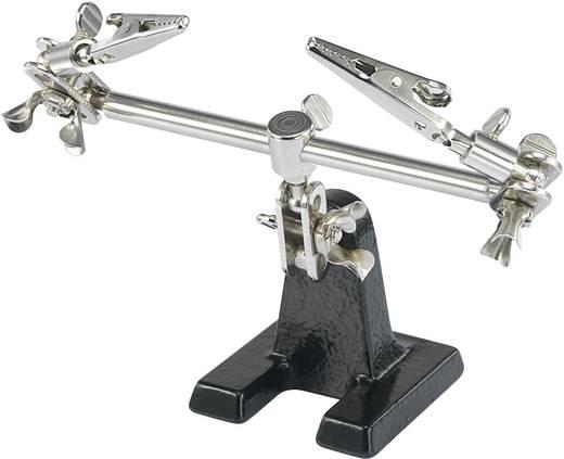 Harmadik kéz 2db csipesszel ellátott, hajlítható, mozgatható paneltartó Toolcraft ZD-10F 7040485