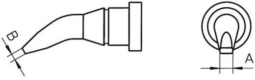Weller LT pákahegy, forrasztóhegy LT-AX kerek formájú, hajlított tompa hegy 1.6 mm