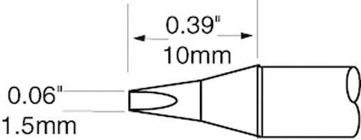 OK International SFV sorozat rövid, keskeny, kétoldalt csapott, véső formájú pákahegy, forrasztóhegy 1.5 mm