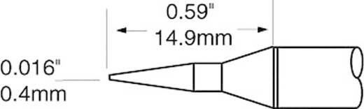 OK International SFV sorozat hosszú, központosított, ceruza formájú kúpos csúcs pákahegy, forrasztóhegy 0.4 mm