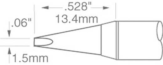 OK International SFV sorozat hosszú, keskeny, kétoldalt csapott véső formájú pákahegy, forrasztóhegy 1.5 mm