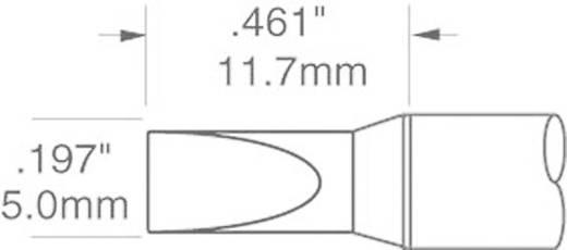 OK International SFV sorozat kétoldalt csapott, véső formájú pákahegy, forrasztóhegy 5.0 mm