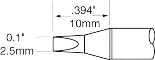OK International SFV sorozat rövid kétoldalt csapott, véső formájú pákahegy, forrasztóhegy 2.5 mm