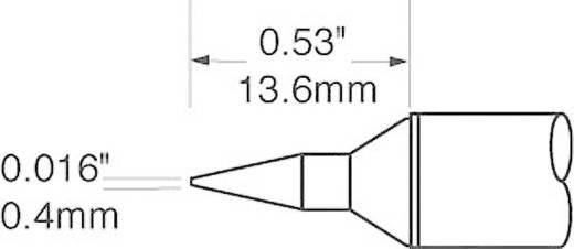 OK International SFV sorozat kerek, központosított csúcs forrasztóhegy, pákahegy 0.4 mm