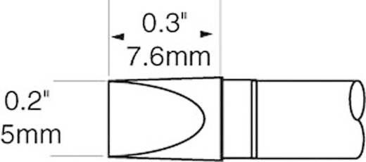 OK International SFV sorozat széles, rövid, kétoldalt csapott, véső formájú pákahegy, forrasztóhegy 5.0 mm