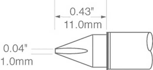 OK International SFV sorozat keskeny, véső formájú pákahegy, forrasztóhegy 1.0 mm