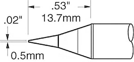 OK International SFV sorozat rövid, központosított, ceruza formájú, kúpos csúcs pákahegy, forrasztóhegy 0.5 mm