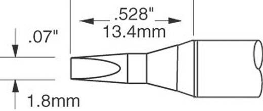 OK International SFV sorozat kétoldalt csapott, véső formájú pákahegy, forrasztóhegy 1.8 mm