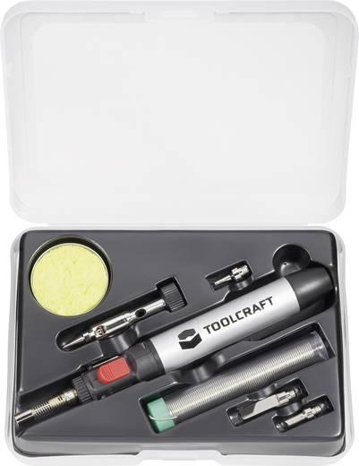 Gázpáka, gázforrasztó 7 részes készlet, max. 1300°C, gáztartalom 11,5 ml Toolcraft PT237