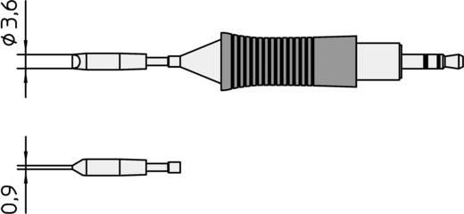 Weller RT11 WMRP mikro pákához hosszú, keskeny, kétoldalt csapott, véső formájú pákahegy, forrasztóhegy 0.9 mm