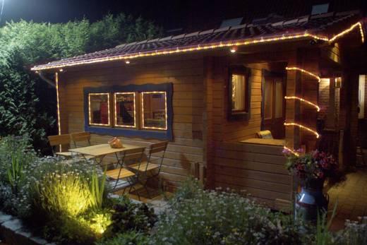 LED-es fénytömlő, fénykábel, fénykígyó, 13 mm x 6 m, kék, 230V IP44, Basetech
