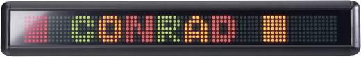 LED-es fényújság, piros/sárga/zöld, 55 x 610 mm