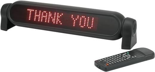 LED-es fényújság, piros, 48 x 380 mm, Mc Crypt