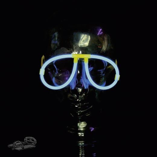 Világító szemüveg, kék
