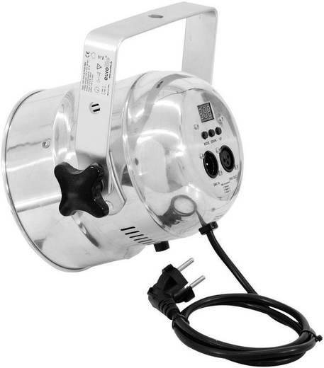 RGB LED-es spot lámpa, ezüst, Eurolite PAR-56 51913618